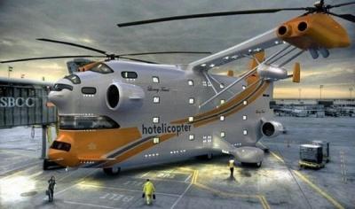 Hotelicopter. Отель + Вертолет = Отель будущего