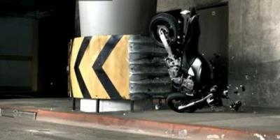 Bikes never crash alone