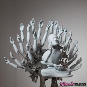 Mākslinieks no Dienvidkorejas Wang Zi Won.
