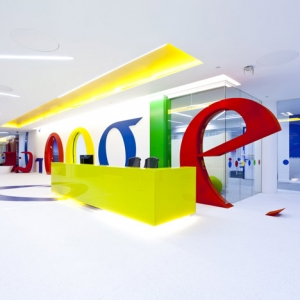 Google ofiss Londonā.