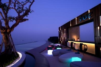 Viesnīca Hilton de Pattaya Taizemē.