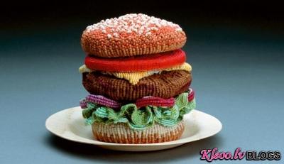 Neparasts ēdiens - māksla!