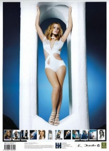 Kylie Minogue noprezentēja savu kalendāru 2011. gadam