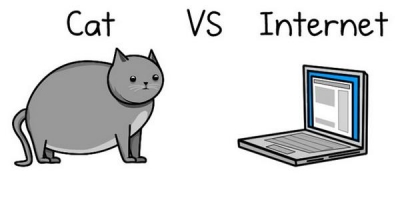 Kaķis vs. Internets