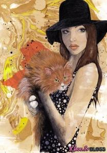 Ilustratore Laura Wesson .