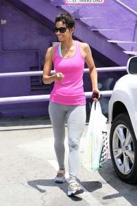 Halle Berry iepirkšanās Holivudā