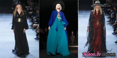 Paris fashion week: Saint Laurent  2013.