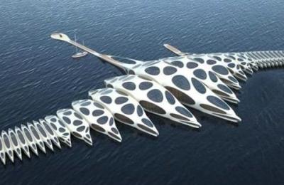 MORPHotel - плавающая гостиница, способная менять форму