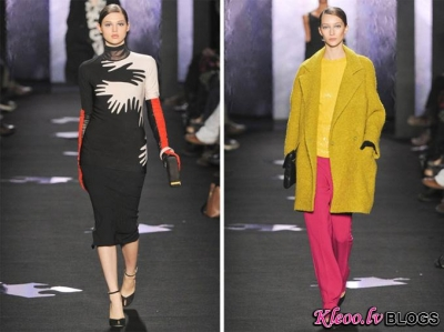 Diane von Furstenberg Fall 2012 | New York Fashion Week.