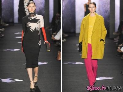 Diane von Furstenberg Fall 2012 | New York Fashion Week.