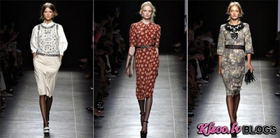 Milan Fashion Week: Bottega Veneta  2013.