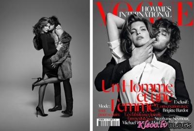 Vogue Hommes International.