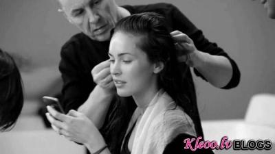 Megan Fox – aizkulises priekš Armani Jeans un Veļas foto sesijas (+VIDEO)