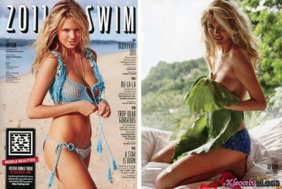 Kate Upton žurnālā Sports Illustrated 2011.