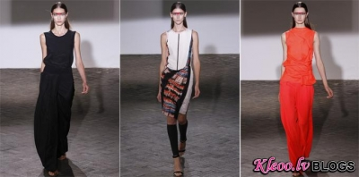 Paris Fashion Week: Cedric Charlier  2013 .