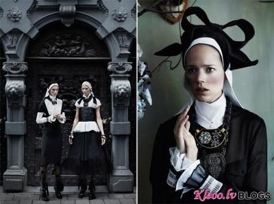 Vogue UK septembrī.