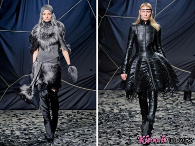 Paris Fashion Week: Gareth Pugh rudens 2012 .