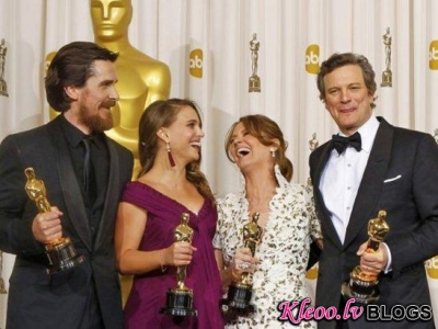 Pagājušās nakts Oskara uzvarētāji!