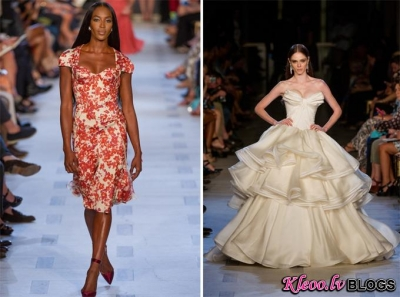 New York Fashion week: Zac Posen  2013 .