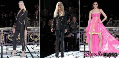 Atelier Versace pavasaris 2013 no Parīzes modes skates.