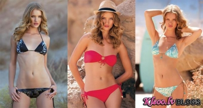 Rosie Huntington-Whiteley katalogā Al Yidiz Swimsuits .