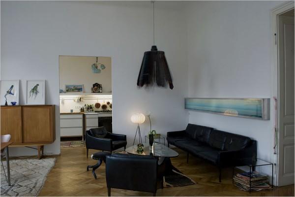 Квартира в полицейском отделении в Вене