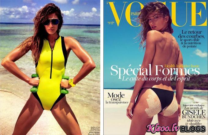 Жизель Бундхен для Vogue Paris