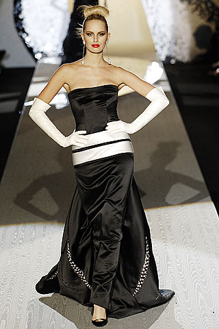 Melnas Kāzu kleitas :mode 2010