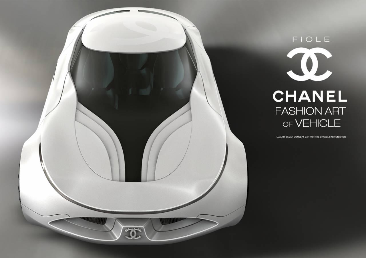 Mašīnas skice priekš Chanel