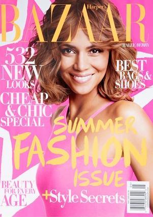 Holli Berri padalījās ar foto-sesijas bildēm Harper's Bazaar (FOTO)