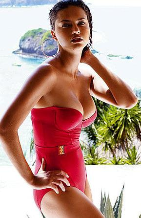 Adriana Lima jaunajā bikini  Victoria's Secret kolekcijas reklāmā (FOTO)