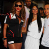 Beyonce and Nicole Scherzinger at Singapore Formula 1 Grand Prix
