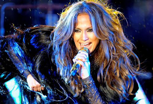 Jennifer Lopez – Dick Clark's New Year's Rockin' Eve in New York