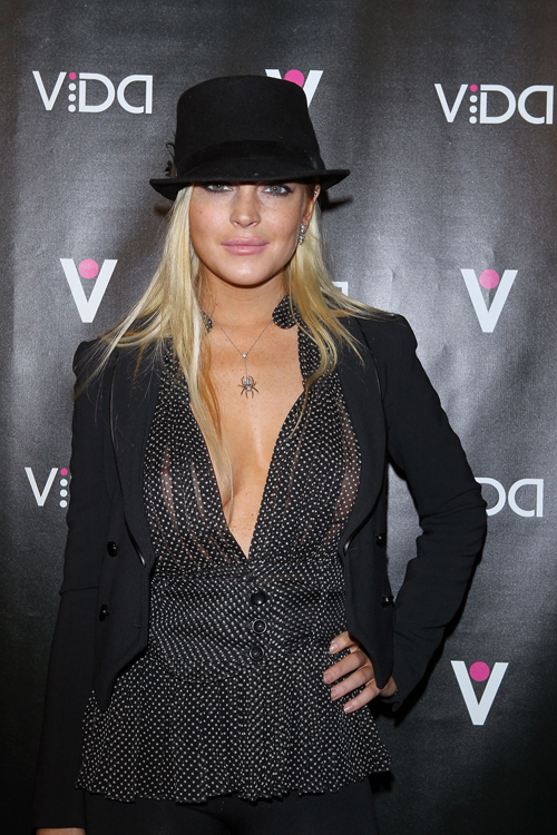 Lindsay Lohan – Vida Launch Event in Los Angeles