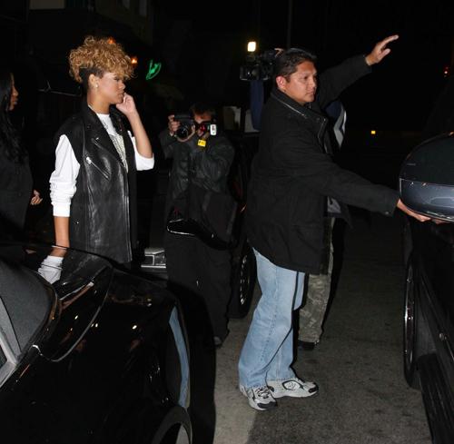 Rihanna at Il Ristorante in Santa Monica