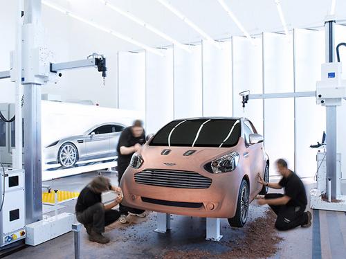 Aston Martin: mazulis Cygnet