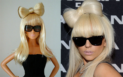 Lelle Bārbija Lady GaGa veidolā
