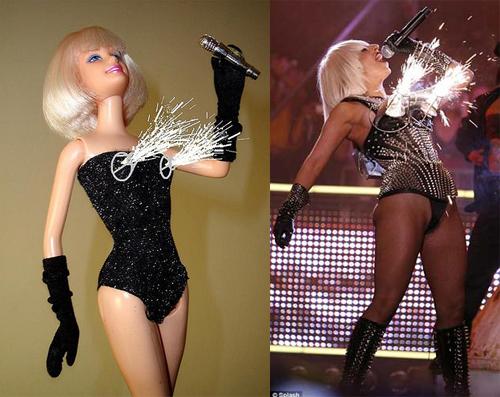 Куклы Барби в образе Леди Гаги