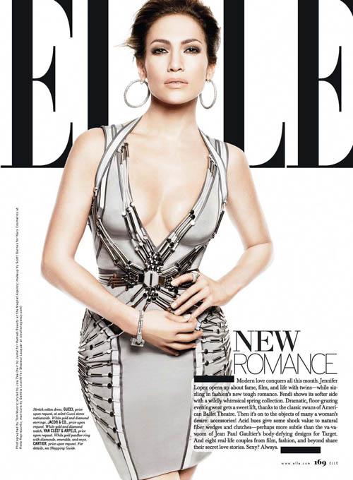 Jennifer Lopez – Elle Magazine