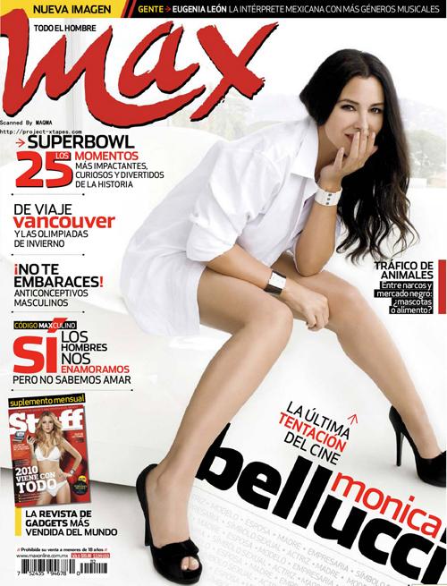 Monica Bellucci – Max Magazine (February 2010)