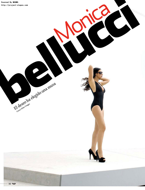 Monica Bellucci – Max Magazine (February 2010)