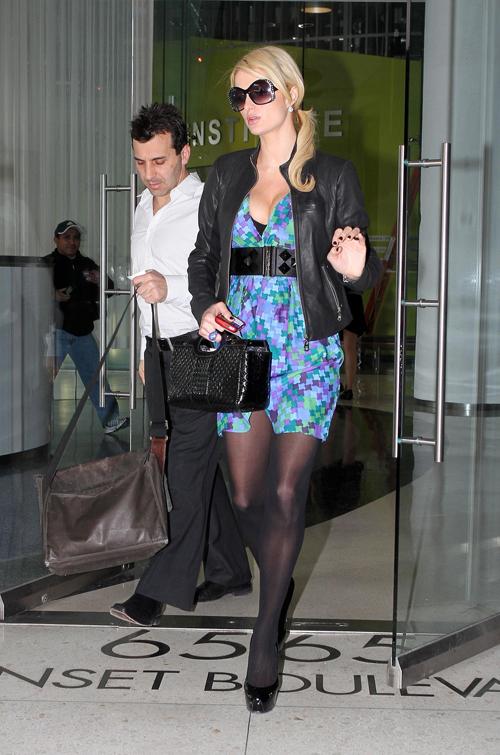 Paris Hilton – Leggy Candids in Hollywood