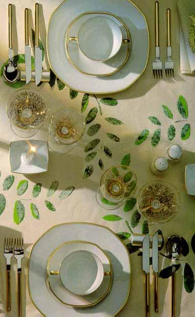 Svētku galda noformējums
