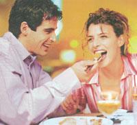 Kā sarīkot erotiskas vakariņas diviem