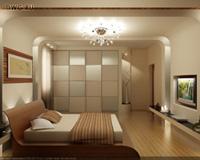 Izvairieties no brūnas krāsas guļamistabas interjerā