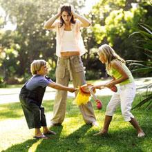 Bērnu konflikti. Ko darīt?