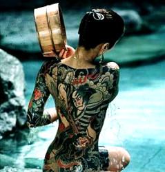 Tetovējums! Zemūdens akmeņi!