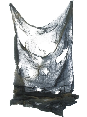 Creepy Cloth, Black and Grey, 75 x 180 cm