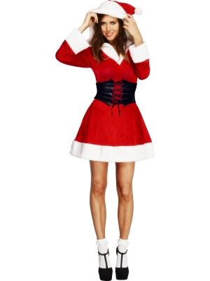 Fever Hooded Santa Costume