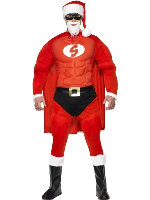 Super Fit Santa Costume